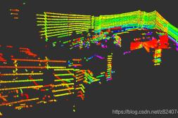 室外低速自动导航车的设计(2)——多线激光雷达的点云解析