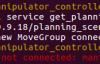 运行 moveit_planning_execution.launch 报错